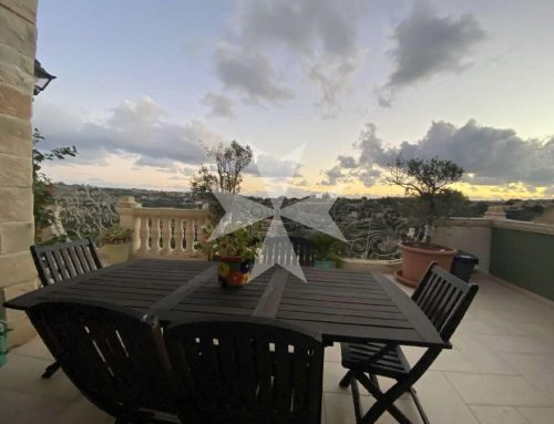 Qrendi, Furnished Penthouse