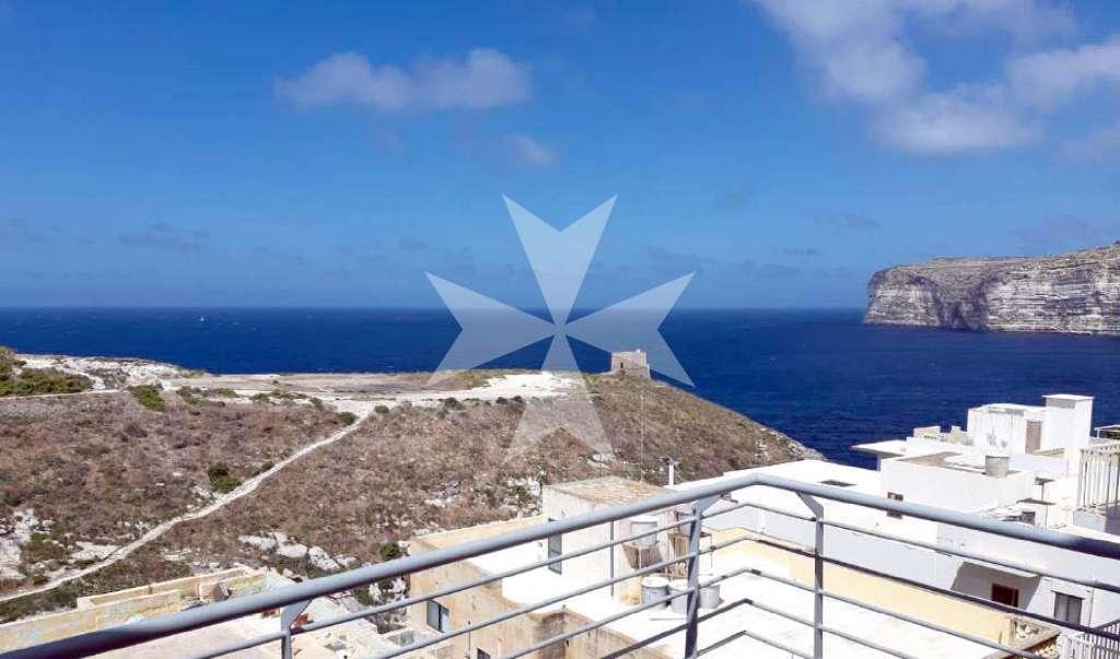Xlendi, on Gozo Island, Furnished Apartment